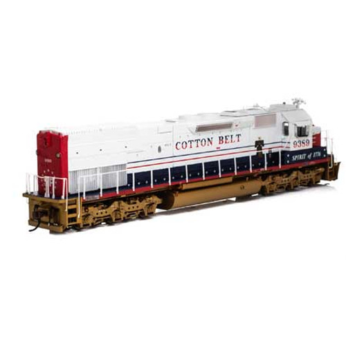 Athearn ATH86840 SD45T-2 Cotton Belt #9389 with DCC & Sound  (SCALE=HO)  Part #ATH86840