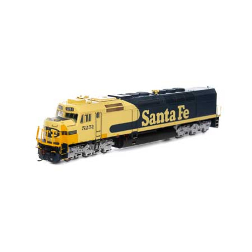 Athearn ATHG63992 SDP40F ATSF - Santa Fe #5251 with DCC & Sound Tsunami2  (SCALE=HO)  Part #ATHG63992