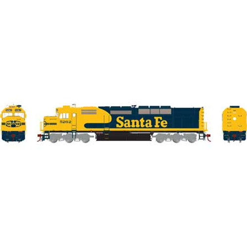Athearn ATHG63995 SDP40F ATSF - Santa Fe #5262 with DCC & Sound Tsunami2  (SCALE=HO)  Part #ATHG63995