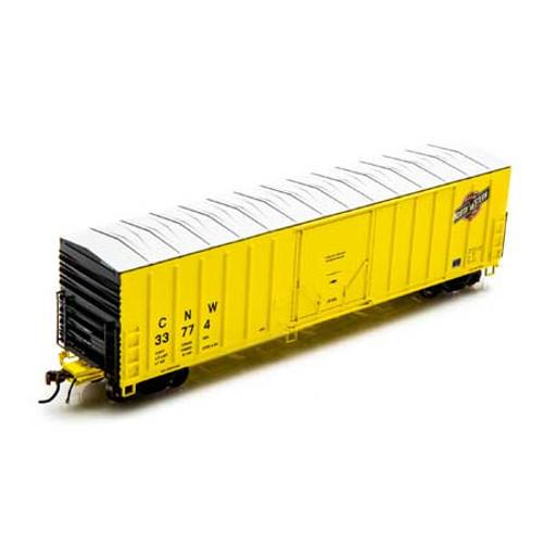 Athearn ATH18414 NACC 50' Box Car C&NW Chicago & North Western #33774  (Scale =HO) Part #ATH18414