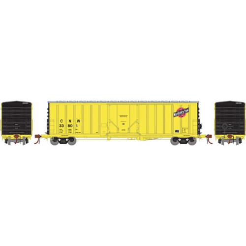 Athearn ATH18416 NACC 50' Box Car C&NW Chicago & North Western #33801  (Scale =HO) Part #ATH18416