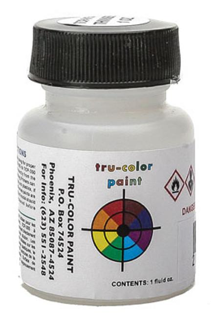 True Color Paint 17 Railroad Color Acrylic Paints - 1oz  29.6mL -- Clear Flat  Part #  709-17