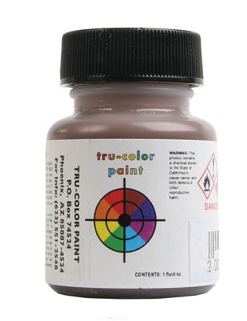 True Color Paint 877 Flat Brushable Color Acrylic Paints - 1oz  29.6mL -- Warm Leather  Part #  709-877