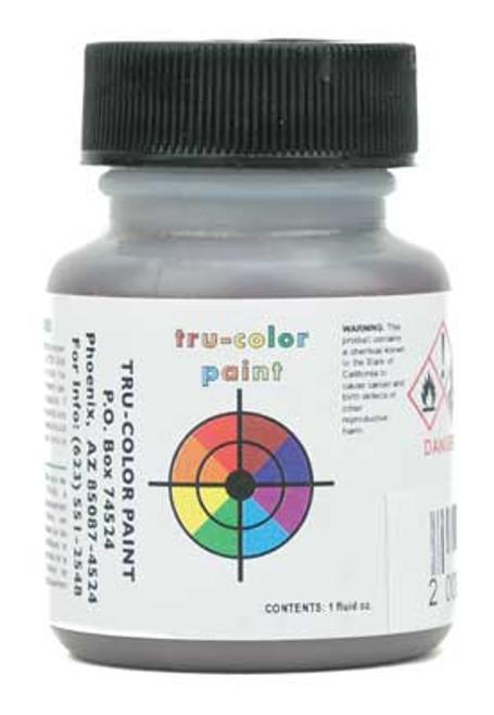 True Color Paint 878 Flat Brushable Color Acrylic Paints - 1oz  29.6mL -- Brown Leather  Part #  709-878