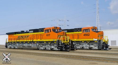 Scaletrains SXT31849 GE C44-9W BNSF Burlington Northern Santa Fe #4562 Rivet Counter (SCALE=HO)  Part # 8003-SXT31849