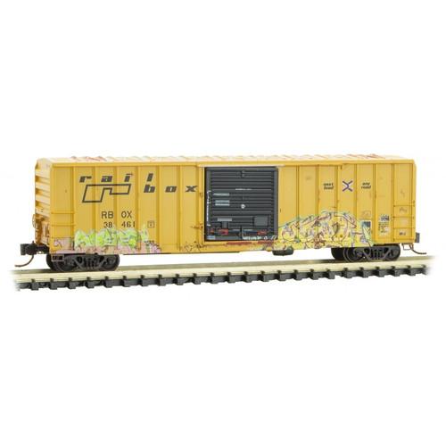 MICRO TRAINS 025 44 569 RBOX - Railbox #38461  (SCALE=N)  PART # 489-02544569