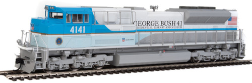 Walthers 9854 EMD SD70ACe - DCC Ready -- Union Pacific(R) 4141 George H. W. Bush (blue, white, gold)   (SCALE=HO)  Part # 910-9854