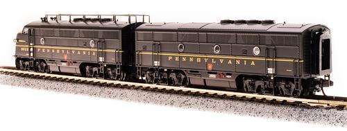 Broadway Limited {3793} F3A/B set  PRR - Pennsylvania #9512A/9512B (Scale=N) Part#187-3793
