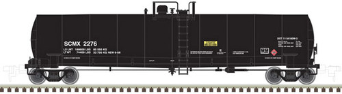 ATLAS 20005588 23500 Gallon Tank Car - SCMX - Shell #2276 (SCALE=HO) Part # 150-20005588