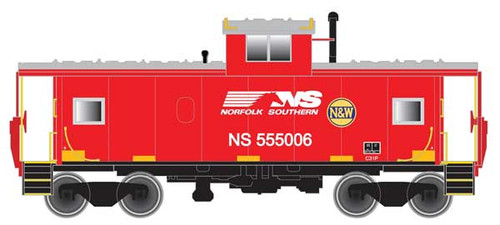 Atlas 50004143 Extended Vision Caboose NS - Norfolk Southern #555006 (Scale=N) Part # 150-50004143