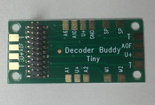 NixTrainz Decoder Buddy Mini - motherboard for 21 Pin decoders (Scale=HO) #NIX-DecoderBuddyMini