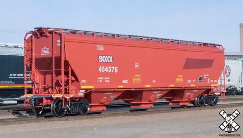Scaletrains {SXT31581} Gunderson 5188CF Hopper SOXX - ex BNSF #484582 (Scale=HO) Part#8003-SXT31581