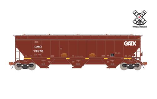 Scaletrains {SXT31585} Gunderson 5188CF Hopper CMO / GATX #13672 (Scale=HO) Part#8003-SXT31585
