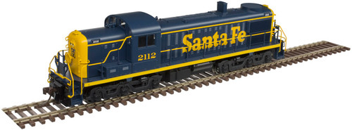 Atlas 10003055 ALCO RS-3 - ATSF - Santa Fe #2134 - DCC & Sound (Scale=HO) Part#150-10003055