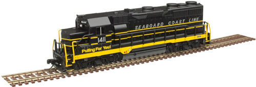 ATLAS 40004285 GP35 - SCL - Seaboard Coast Line #1408 - Gold - DCC & Sound (SCALE=N) Part # 150-40004285