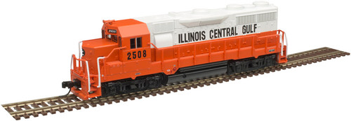 ATLAS 40004288 GP35 - ICG - Illinois Central Gulf #2508 - Gold - DCC & Sound (SCALE=N) Part # 150-40004288