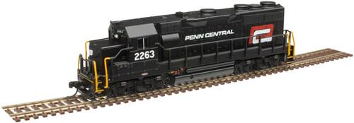 ATLAS 40004294 GP35 - PC Penn Central (Red P) #2263 - Gold - DCC & Sound (SCALE=N) Part # 150-40004294