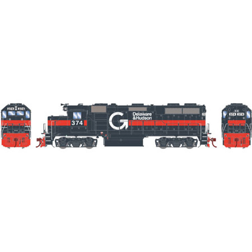 Athearn ATHG65605 GP39-2 Phase I D&H - Guilford #374 with DCC & Sound Tsunami2  (SCALE=HO)  Part #ATHG65605