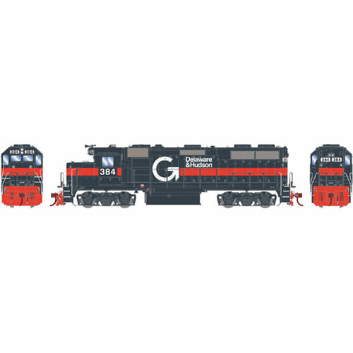 Athearn ATHG65606 GP39-2 Phase I D&H - Guilford #384 with DCC & Sound Tsunami2  (SCALE=HO)  Part #ATHG65606