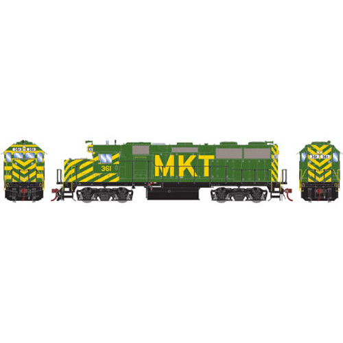 Athearn ATHG65615 GP39-2 Phase III MKT - Missouri Kansas Texas #361 with DCC & Sound Tsunami2  (SCALE=HO)  Part #ATHG65615