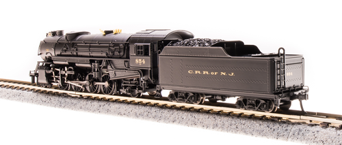 Broadway Limited {5953} 2-8-2 Heavy Mikado  CNJ - Jersey Central Lines #857 (Scale=N) Part#187-5953