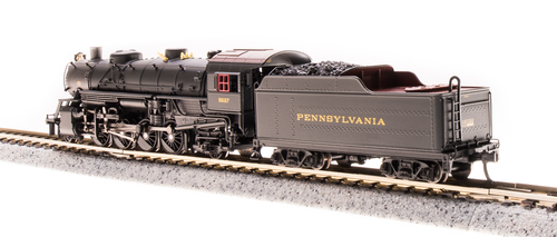Broadway Limited {5980} 2-8-2 Light Mikado  PRR - Pennsylvania #9627 (Scale=N) Part#187-5980