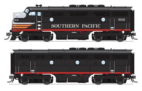 BLI 4824 EMD F3 A/B SP Southern Pacific #6102A/6102B Broadway Limited  (SCALE=HO)  Part # 187-4824