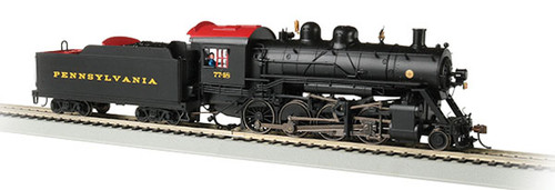 Bachmann 57902 2-8-0 Steam Pennsylvania Railroad 7748 (black, Tuscan) Consolidation -Sound Value Bachmann Industries (SCALE=HO) Part#=160-57902