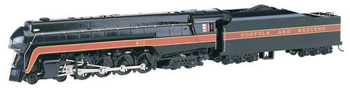 Bachmann 53201 N&W Railfan Class J 4-8-4 Steam  #611 Norfolk & Western(Railfan Version, black, maroon) Soundtraxx-Sound Value Bachmann Industries (SCALE=HO) Part#=160-53201