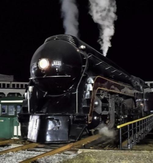 Bachmann 53201 N&W Railfan Class J 4-8-4 Steam  #611 Norfolk & Western(Railfan Version, black, maroon) Soundtraxx-Sound Value Bachmann Industries (SCALE=HO) Part#=160-53201