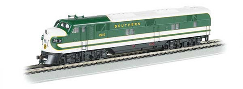 Bachmann 66602 / EMD E7-A - Sound & DCC Southern Railway (green, white) #2910 (Scale=HO) Part #160-66602