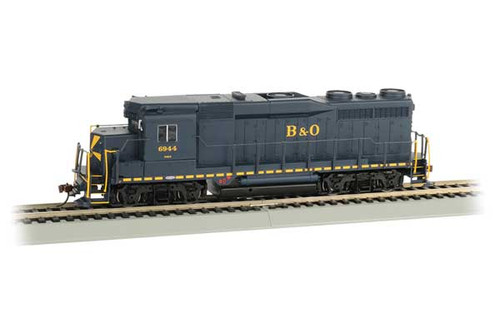 Bachmann 67601 Baltimore & Ohio 6944 (Sunburst, blue, yellow) EMD GP30 - Sound & DCC SoundTraxx(R) Sound Value sound package (Scale=HO) Part#160-67601