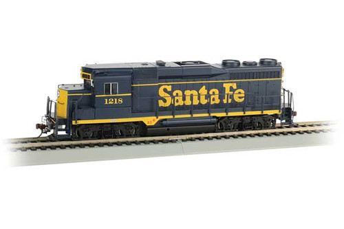 Bachmann 67604 GP-30 Santa Fe 1218 (blue, yellow) EMD GP30 - Sound & DCC SoundTraxx(R) Sound Value sound package (Scale=HO) Part#160-67604
