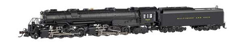 "Bachmann 80852 B&O  #7615  ""N"" Scale  Class EM-1 2-8-8-4 Early Large Dome - Econami DCC Sound Value - Spectrum(R)  (Scale=N) Part#160-80852"
