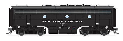 BLI 4846 EMD F7 A/B NYC New York Central #1640/2420 Broadway Limited  (SCALE=HO)  Part # 187-4846