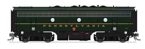 BLI 4848 EMD F7 A/B PRR Pennsylvania #9671A/9671B Broadway Limited  (SCALE=HO)  Part # 187-4848