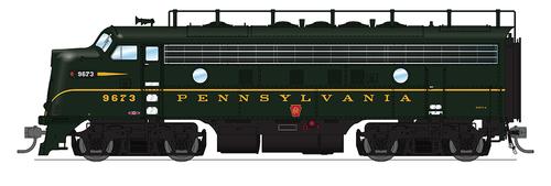 BLI 4860 EMD F7 A PRR Pennsylvania #9673A Broadway Limited  (SCALE=HO)  Part # 187-4860