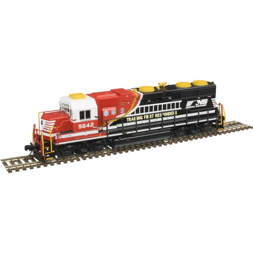 ATLAS 40004138 GP38 - NS - Norfolk Southern First Responders #5642 - Gold - DCC & Sound (SCALE=N) Part # 150-40004138
