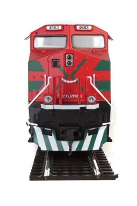 Walthers Mainline ES44 Evolution Locomotive Ferromex #4663 SOUND & DCC (SCALE=HO)  Part # 910-20192