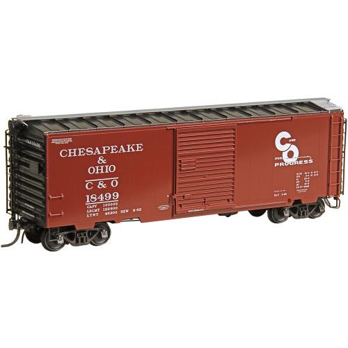 Kadee 5023 40' Boxcar C&O - Chesapeake & Ohio #18499  (HO Scale) Part # 380-5023