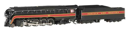 "Bachmann 53253 ""N"" Scale  RailFan N&W # 611(black, maroon) - Econami DCC Sound Value - Spectrum(R)  (Scale=N) Part#160-53253"