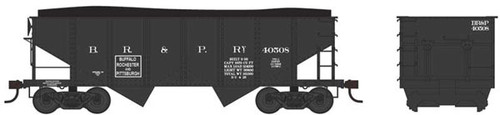 Bowser 37959 - GLa 2 Bay Late Hopper - BR&P Buffalo Rochester and Pittsburgh #40508 (Scale=N) Part #6-37959