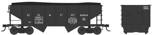 Bowser 37962 - GLa 2 Bay Late Hopper - BR&P Buffalo Rochester and Pittsburgh #40537 (Scale=N) Part #6-37962