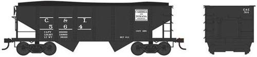 Bowser 37965 - GLa 2 Bay Hopper - C&I - Cambria & Indiana #561 (Scale=N) Part #6-37965