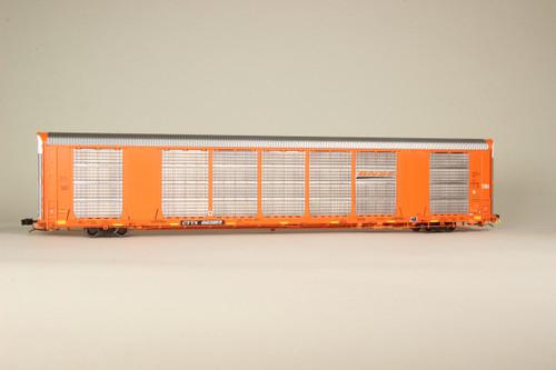 Scaletrains {SXT32124} Gunderson Multi-Max Autorack BNSF - Orange - CTTX #639968 Rivet Counter ScaleTrains  (SCALE=HO)  Part # 8003-SXT32124