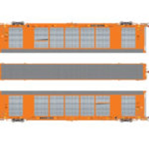 Scaletrains {SXT32127} Gunderson Multi-Max Autorack BNSF - Orange - TTGX #693337 Rivet Counter ScaleTrains  (SCALE=HO)  Part # 8003-SXT32127