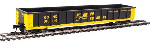 Walthers Mainline 910-6221 53' Railgon GONX - Railgon #310146  (SCALE=HO)  Part # 910-6221