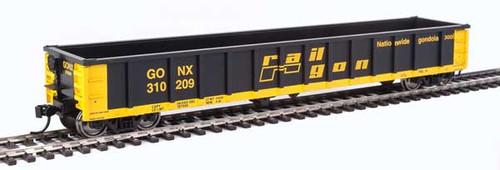Walthers Mainline 910-6223 53' Railgon GONX - Railgon #310209  (SCALE=HO)  Part # 910-6223
