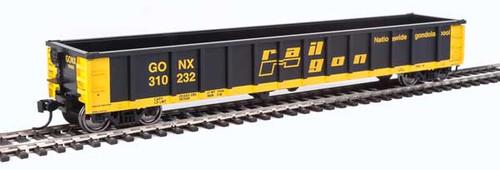 Walthers Mainline 910-6224 53' Railgon GONX - Railgon #310232  (SCALE=HO)  Part # 910-6224