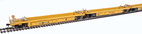 Walthers Mainline 910-55628 Thrall Rebuilt 5 unit 40' Well Car - DTTX  #748198 (SCALE=HO)  Part # 910-55628